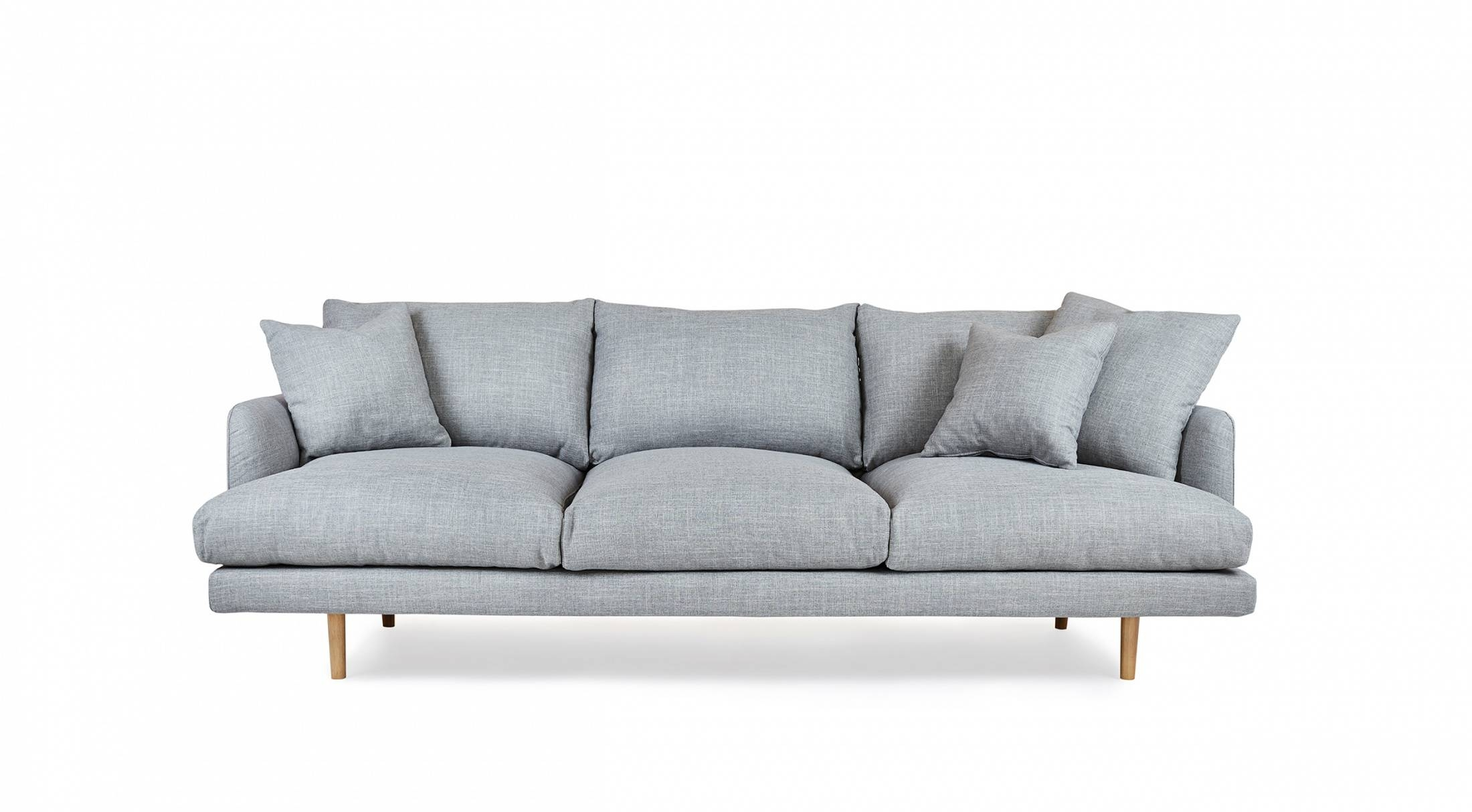 Hampton - 4 Seat Sofa | Loungelovers within 4 Seater Couch (Image 18 of 30)