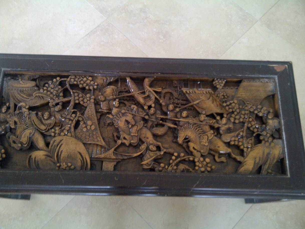 Hand Carved Coffee Table | Idi Design inside Elephant Glass Top Coffee Tables (Image 19 of 30)
