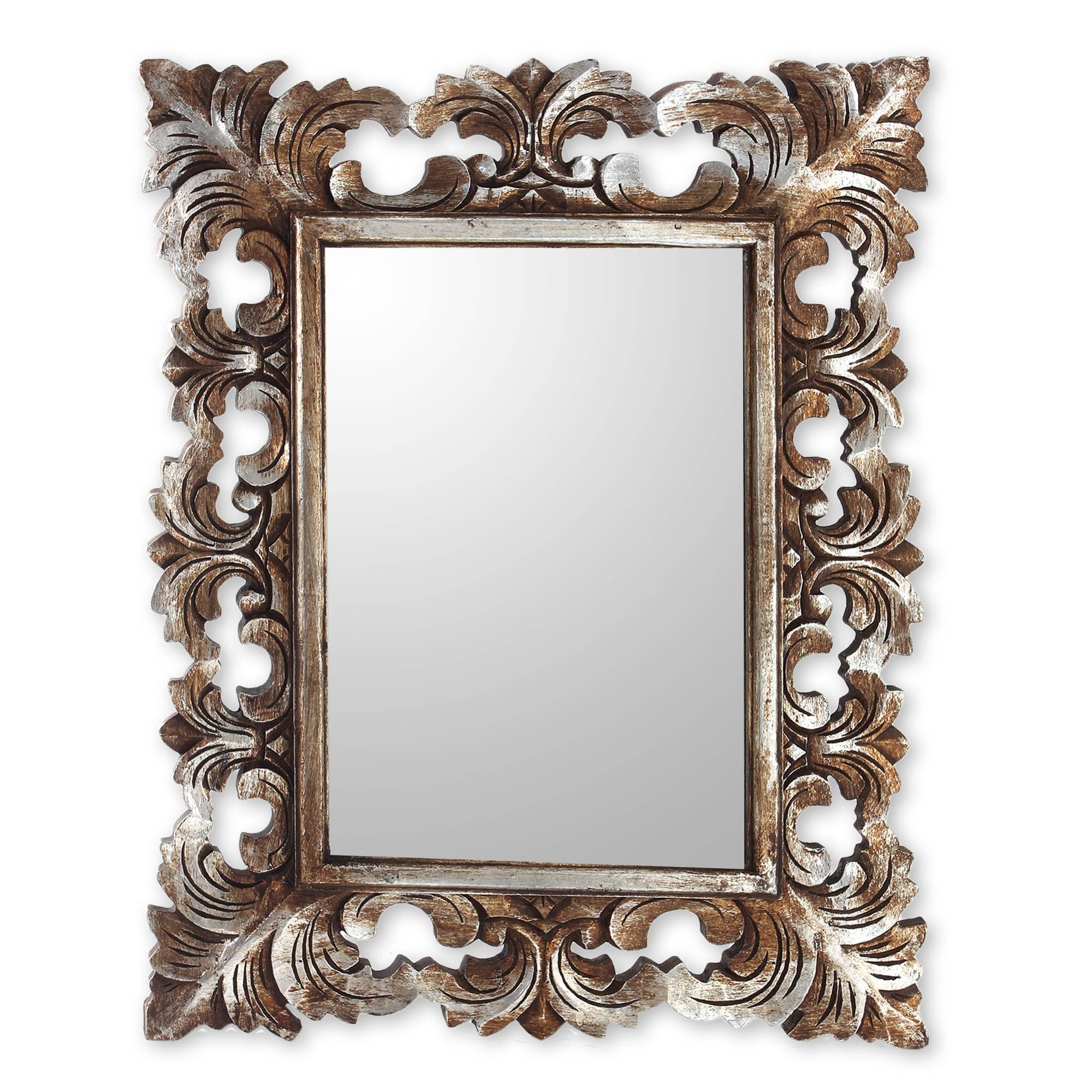 Featured Photo of Distressed Silver Mirrors
