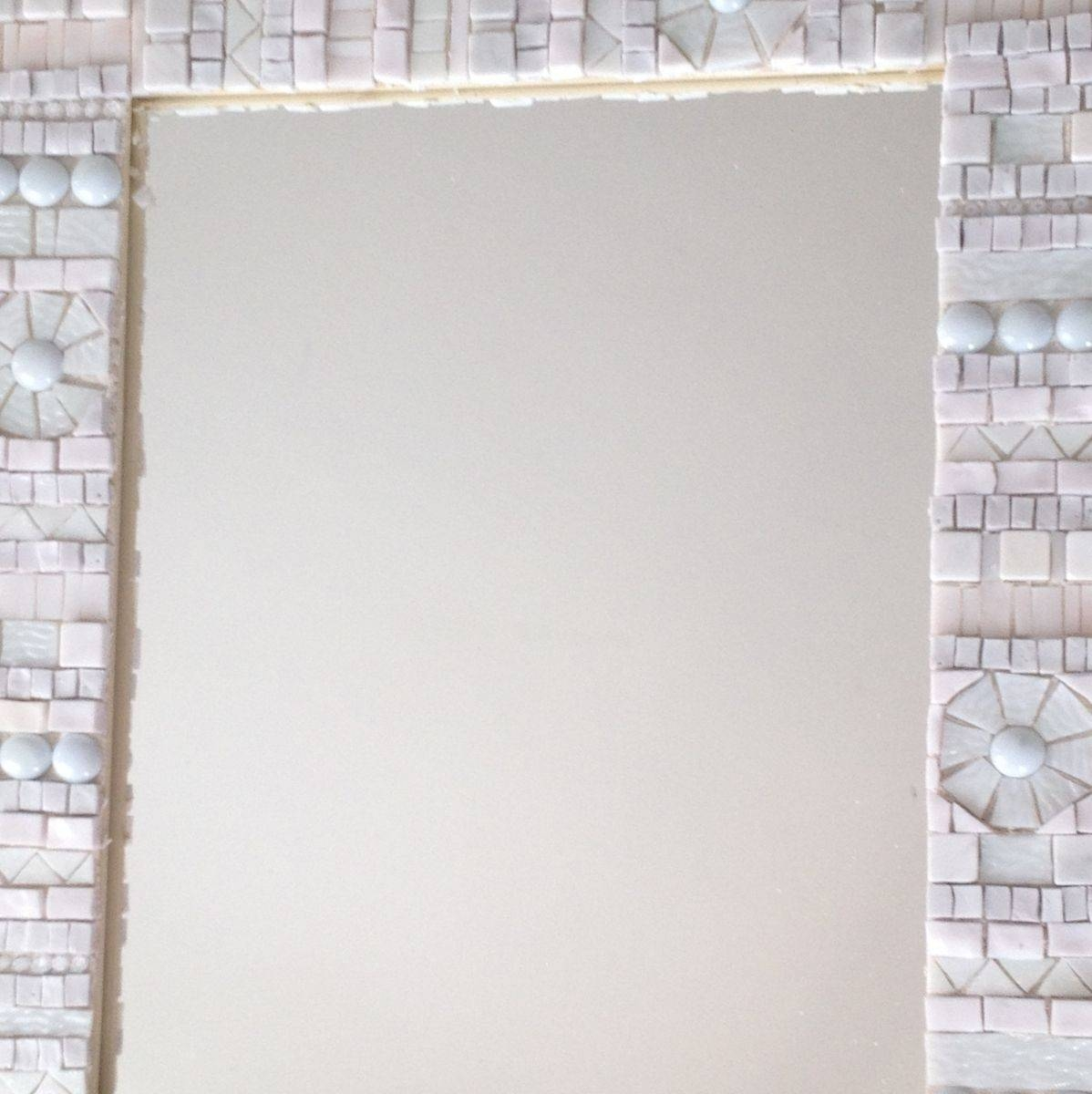 Hand Crafted Mosaic Decorative Wall Mirrorlive In Mosaics with regard to Mosaic Wall Mirrors (Image 11 of 25)