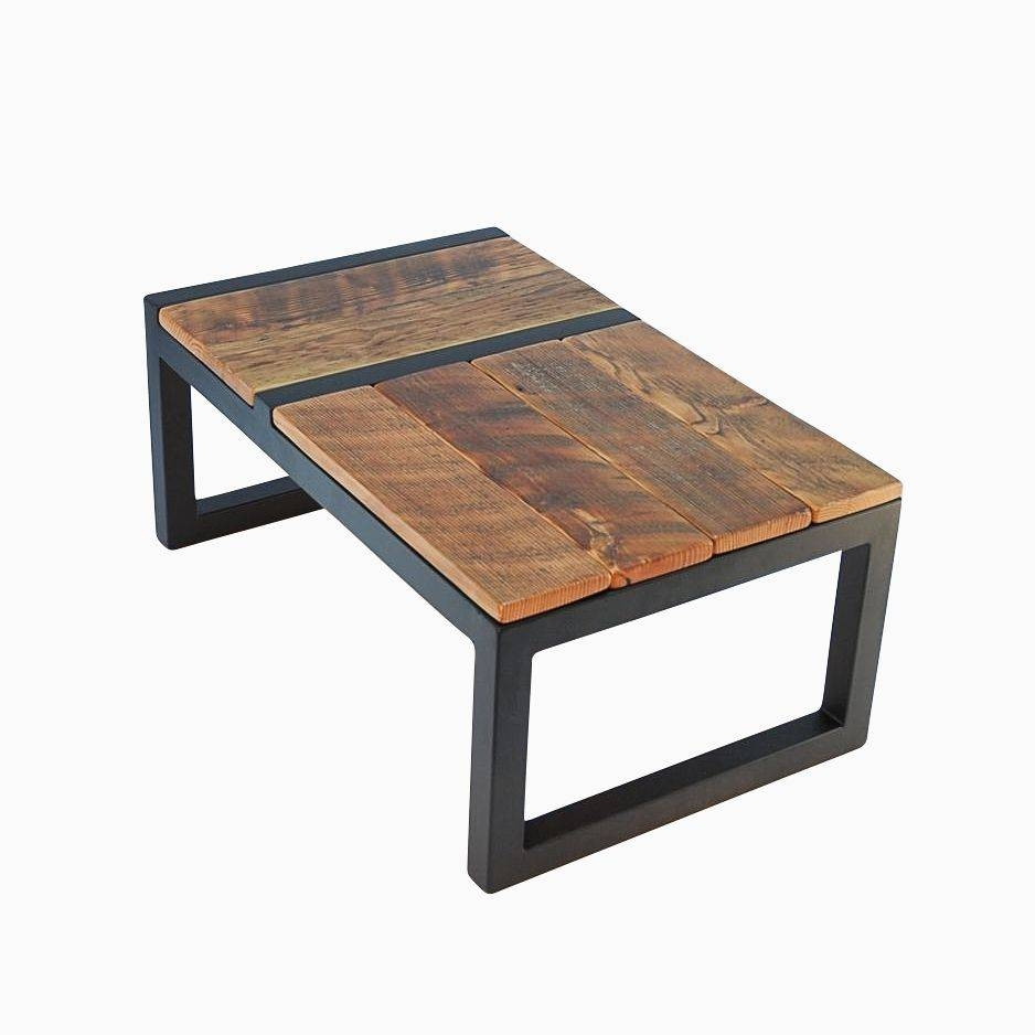 Hand Made Rustic Modern Barnwood Domino Coffee Tablejonathan intended for Rustic Barnwood Coffee Tables (Image 16 of 30)