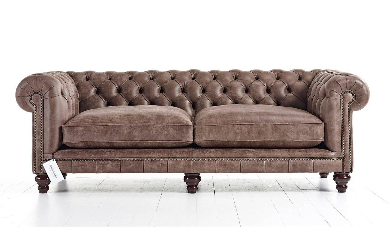 Handmade Chesterfield Sofas | Distinctive Chesterfields Usa With Leather Chesterfield Sofas (Image 15 of 30)