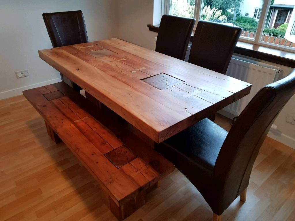 Handmade Vietnamese 8 Seater Dining Table & Matching Coffee Table with regard to Coffee Tables and Tv Stands Matching (Image 17 of 30)