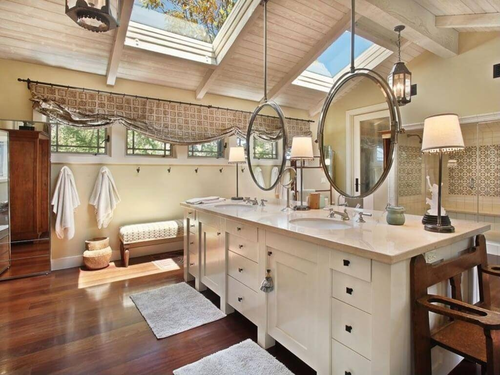 Hanging Bathroom Mirrors From Ceiling | Home regarding Ceiling Mirrors (Image 20 of 25)