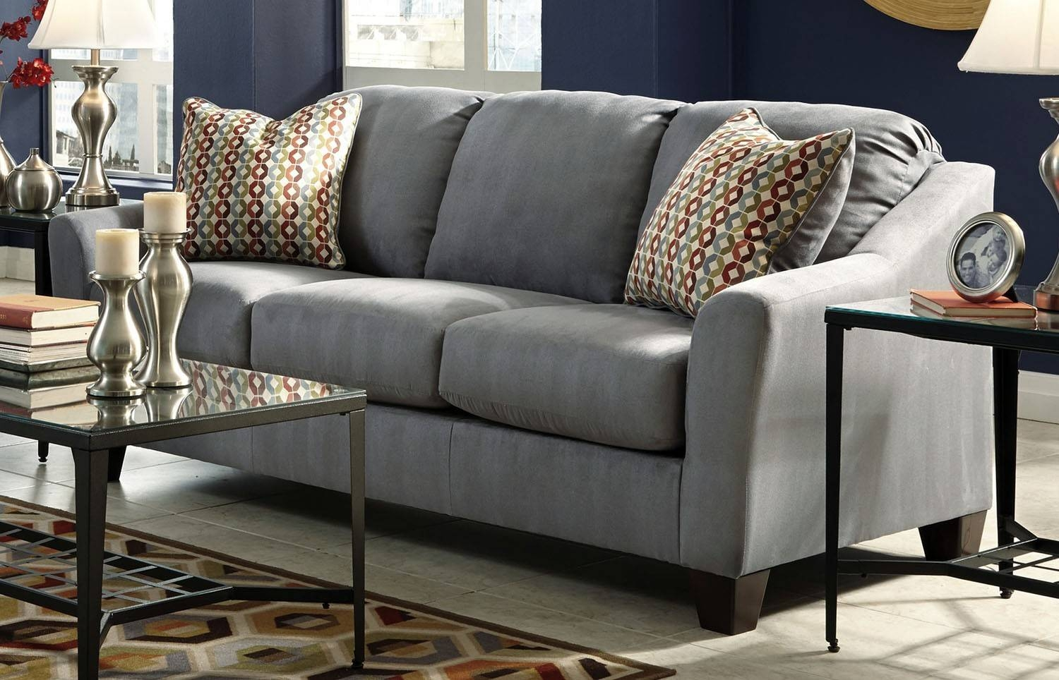 Hannin-Lagoon Sofa - Ashley Furniture | Orange County, Ca with regard to Sofa Orange County (Image 7 of 25)