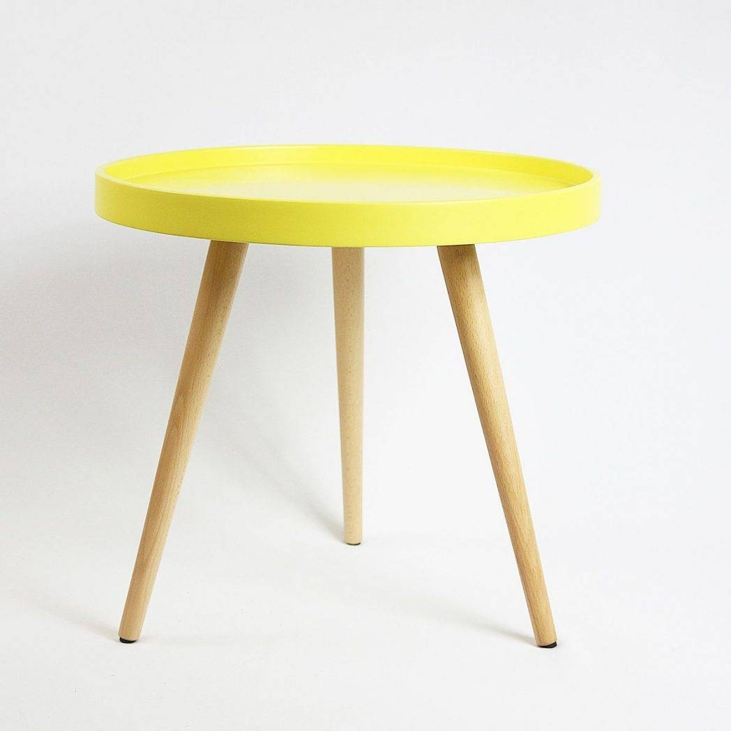 Haslev Coffee Table Of Beech Cc Danish Modern Benches Di / Thippo in Round Beech Coffee Tables (Image 25 of 30)