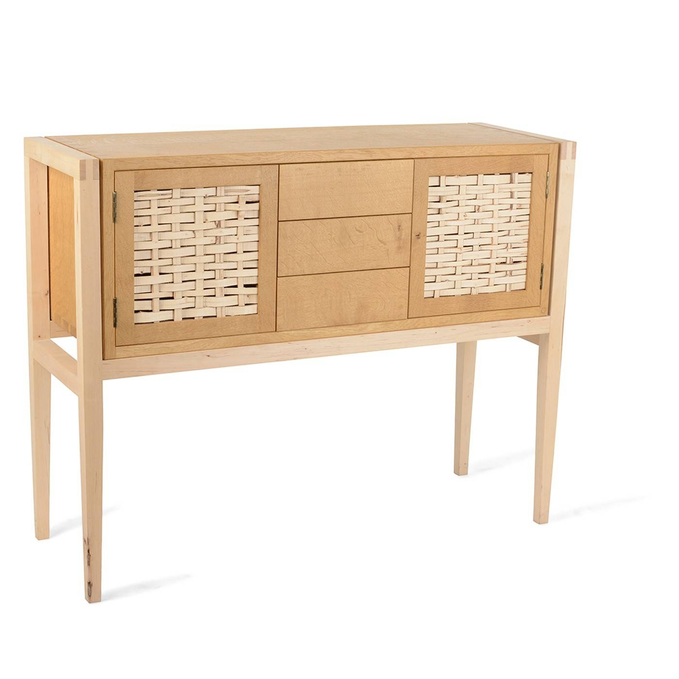 Heal's Oak And Hazel Sideboard in Light Wood Sideboards (Image 6 of 30)