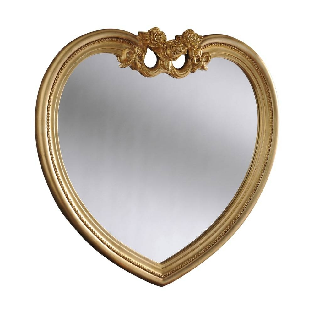 Heart Mirror: Heart Ornate Mirror |Select Mirrors within Heart Wall Mirrors (Image 10 of 25)