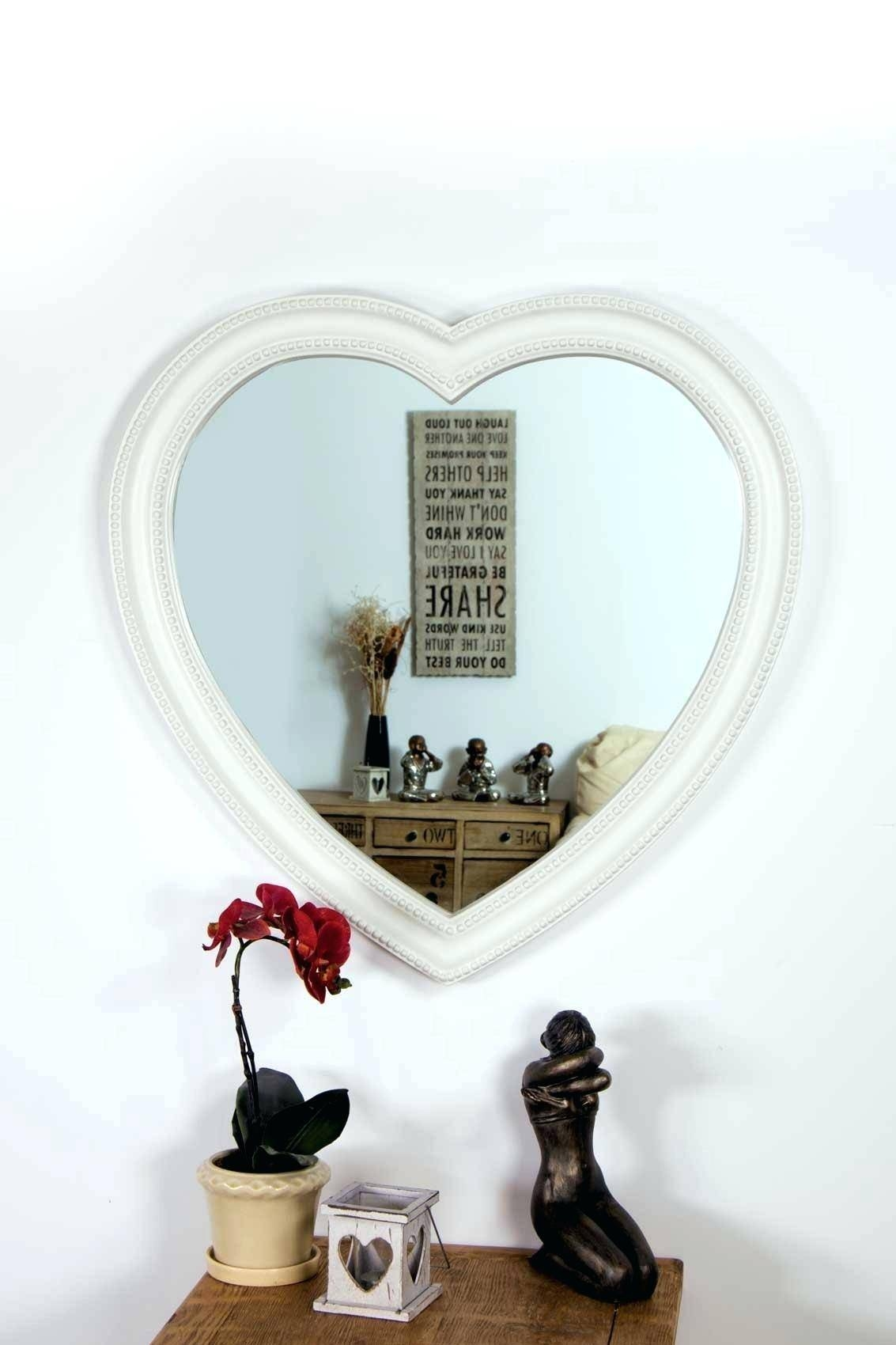 Heart Shaped Angel Wings Wall Mirrorheart Mirrors Uk Venetian for Heart Venetian Mirrors (Image 14 of 25)