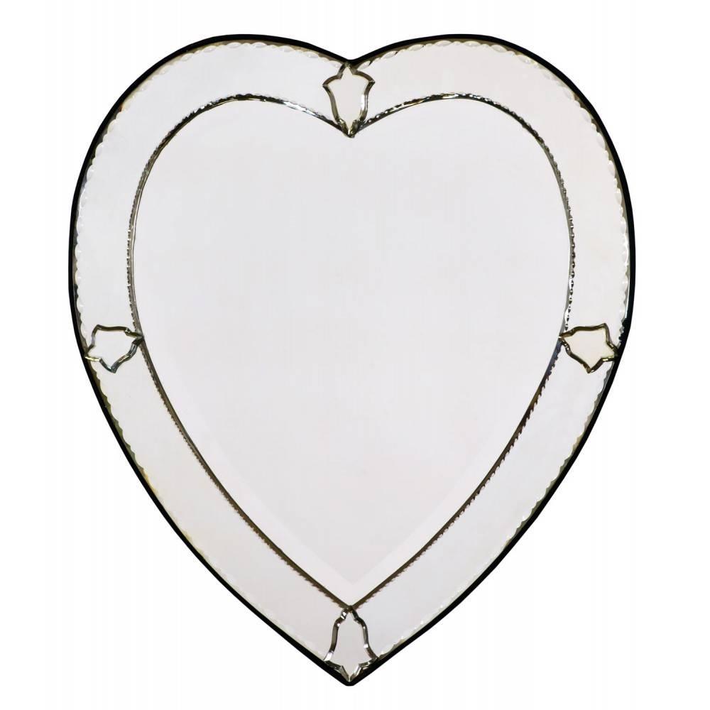 Heart Shaped Mirrors inside Venetian Heart Mirrors (Image 16 of 25)