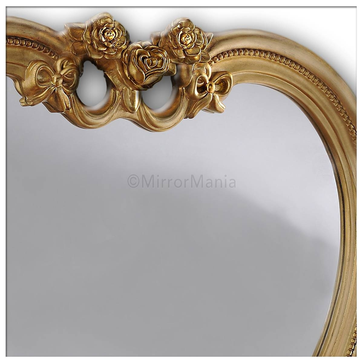 Heart Shaped Wall Mirror Gold with Heart Shaped Mirrors For Wall (Image 7 of 25)