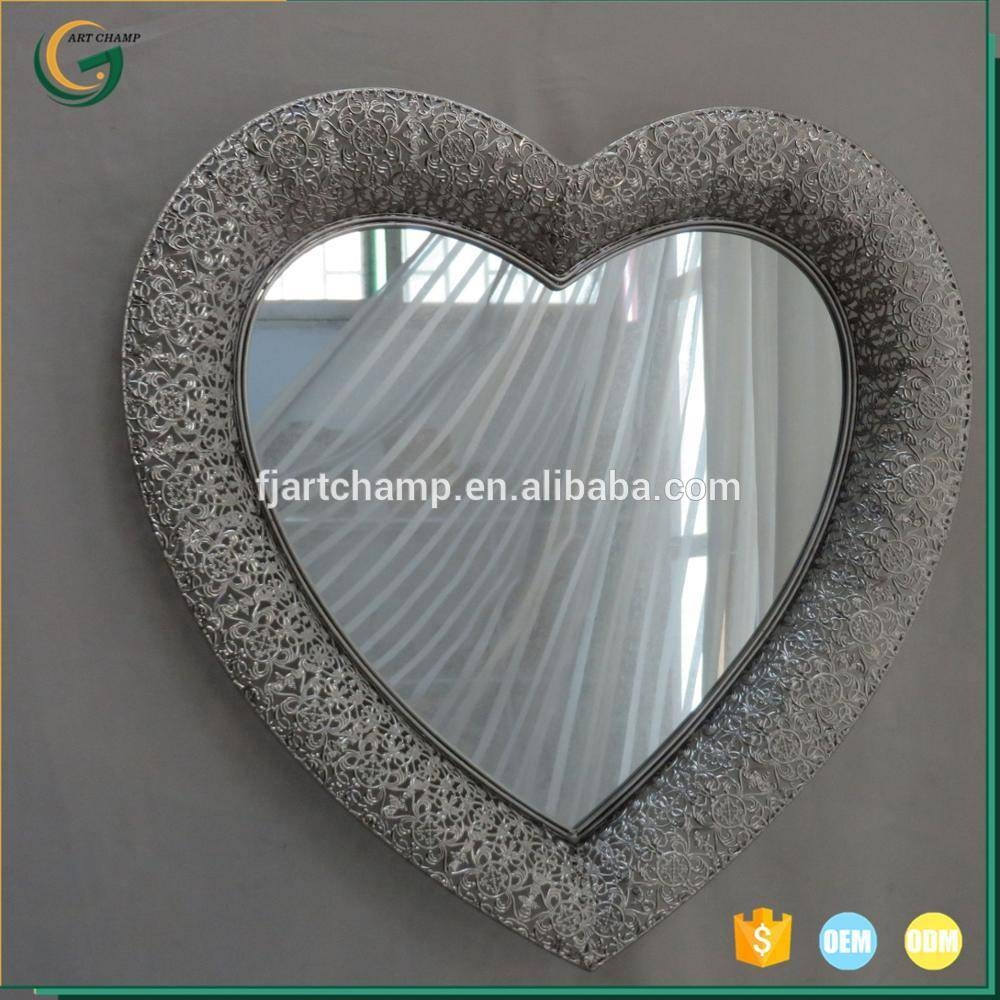 Heart Shaped Wall Mirrors, Heart Shaped Wall Mirrors Suppliers And for Heart Shaped Mirrors for Wall (Image 8 of 25)
