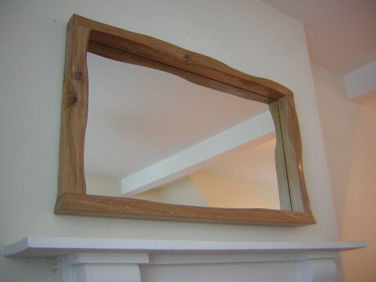 Helluvakinky Woodworks - Kinky Mirrors Set One. in Large Oak Mirrors (Image 6 of 25)