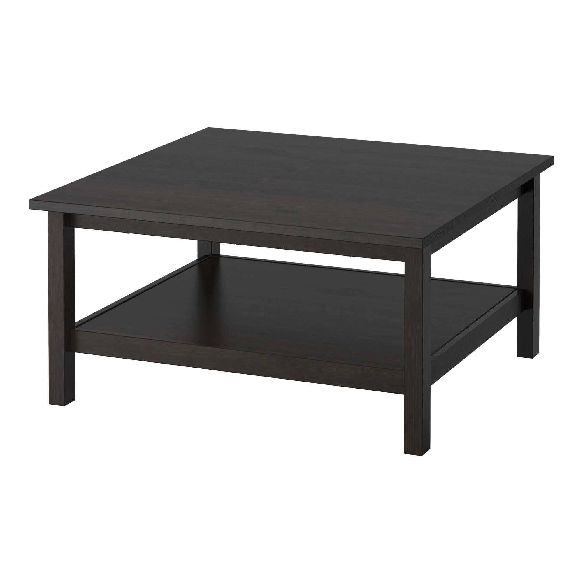 Hemnes Coffee Table - Black-Brown - Ikea with Elephant Glass Top Coffee Tables (Image 20 of 30)