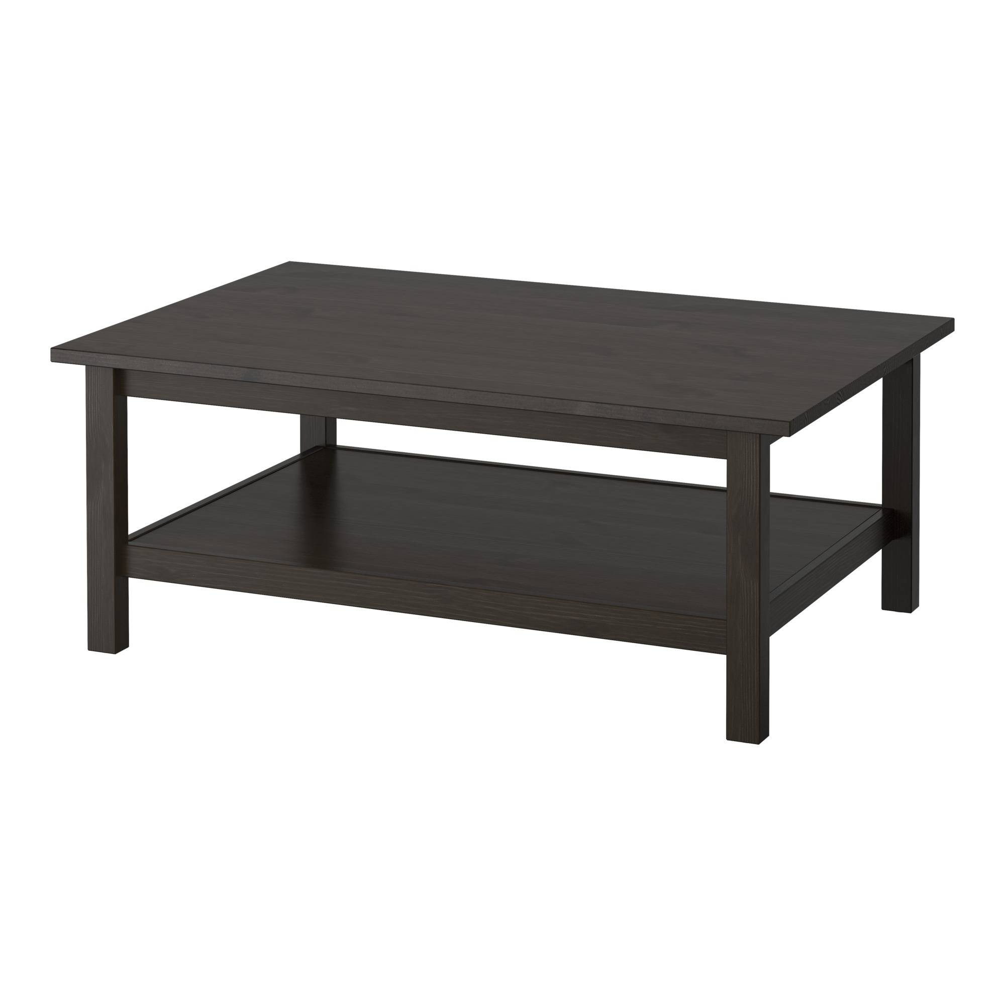 Hemnes Coffee Table - Black-Brown - Ikea within White And Black Coffee Tables (Image 11 of 30)