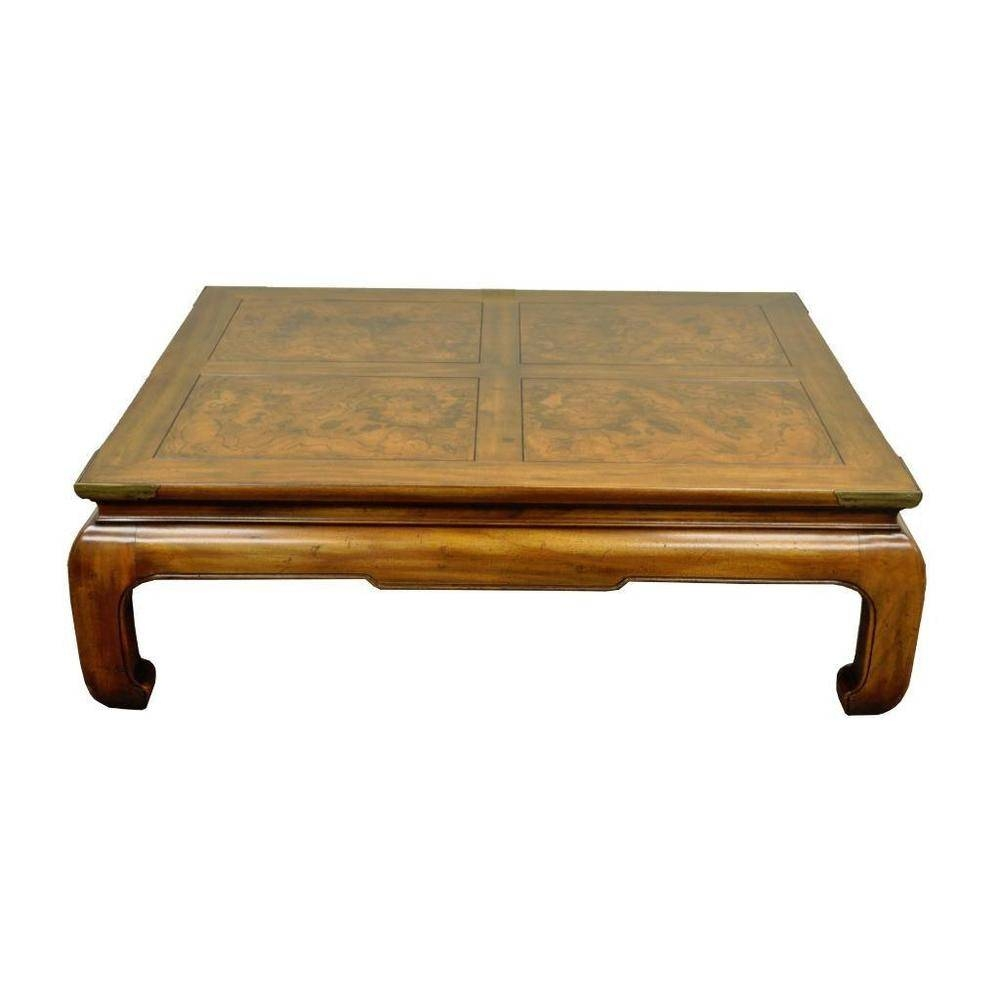 Henredon Coffee Table | Idi Design with Asian Coffee Tables (Image 18 of 30)