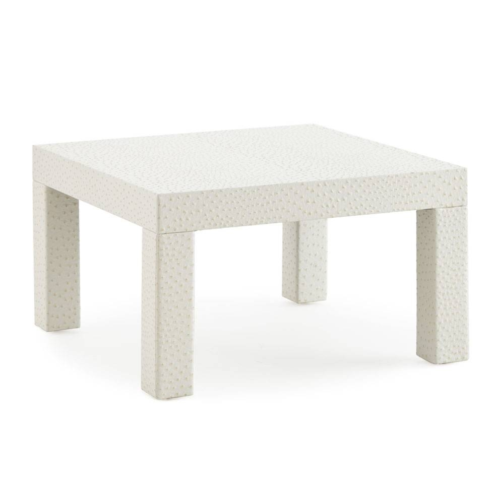 Henri Coffee Table - Square Feathers inside Square White Coffee Tables (Image 18 of 30)