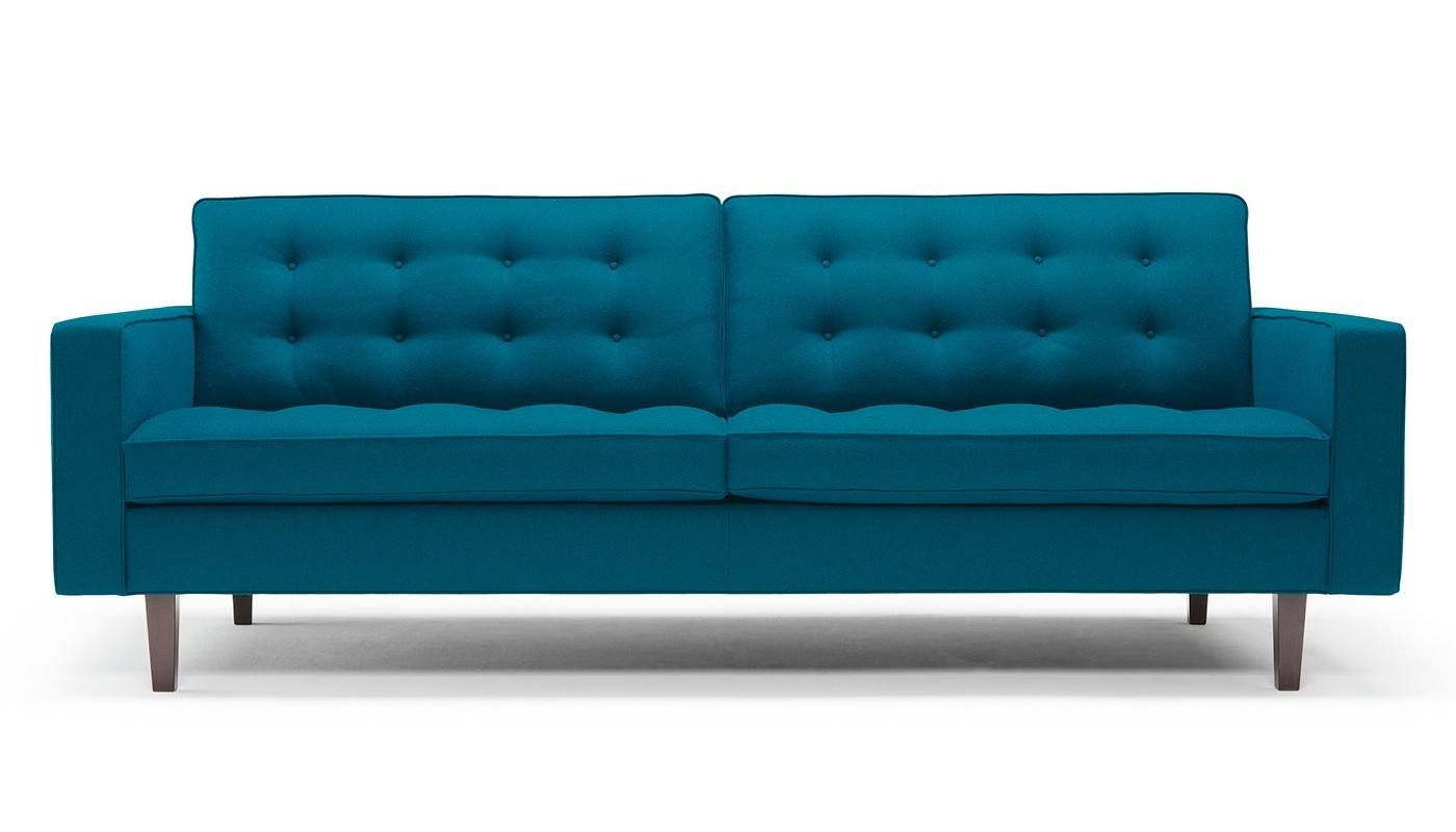 Hepburn 4 Seater Wool Sofa - Hepburn - Sofas with 4 Seater Couch (Image 22 of 30)