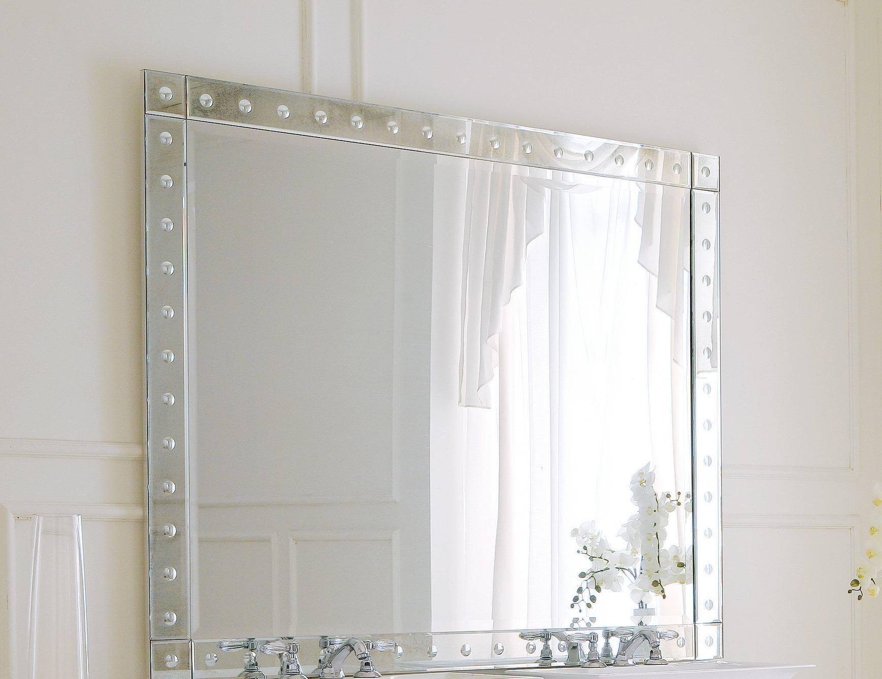 Hermitage H1 High End Italian Bathroom Vanity In Venetian Mirror pertaining to Venetian Bathroom Mirrors (Image 15 of 25)