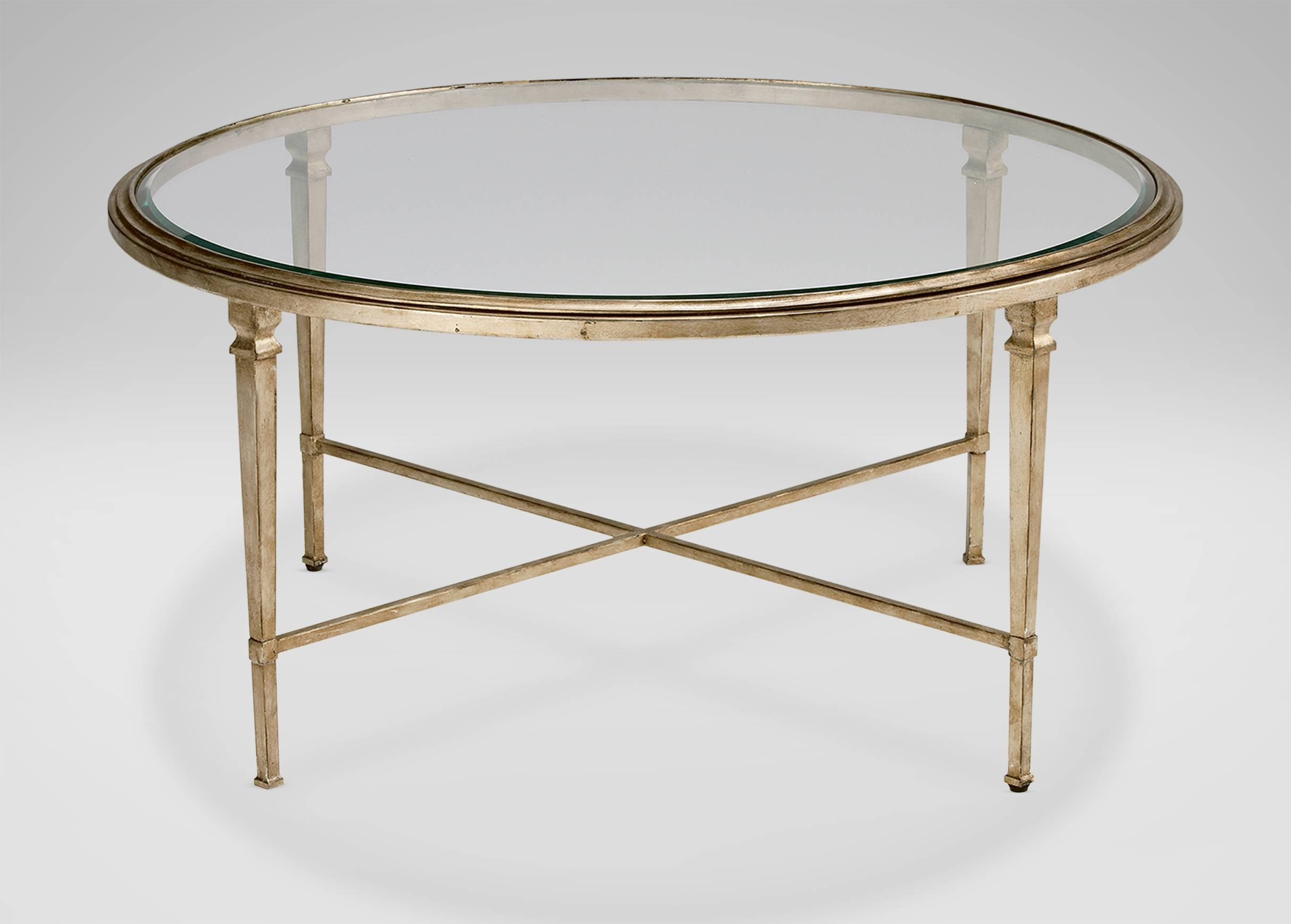 Heron Round Coffee Table | Coffee Tables with Glass Circular Coffee Tables (Image 19 of 31)