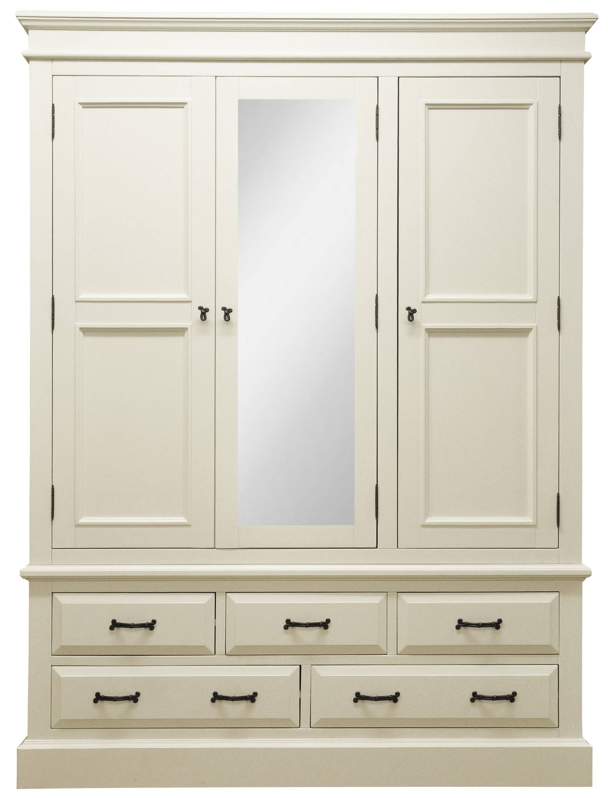 High Bedroom Closetmaid 48 Multi Purpose Wardrobe Cabinet Wooden with regard to White Wood Wardrobes (Image 6 of 15)
