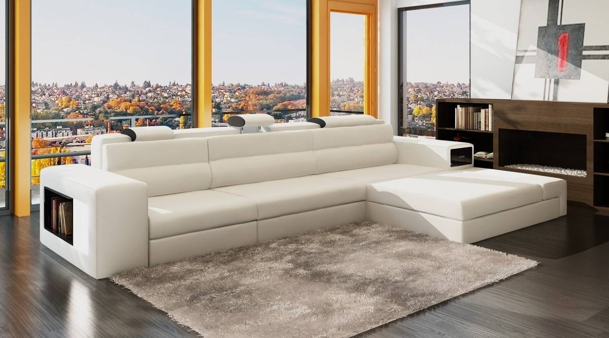 2019 Latest High End Leather Sectional Sofa