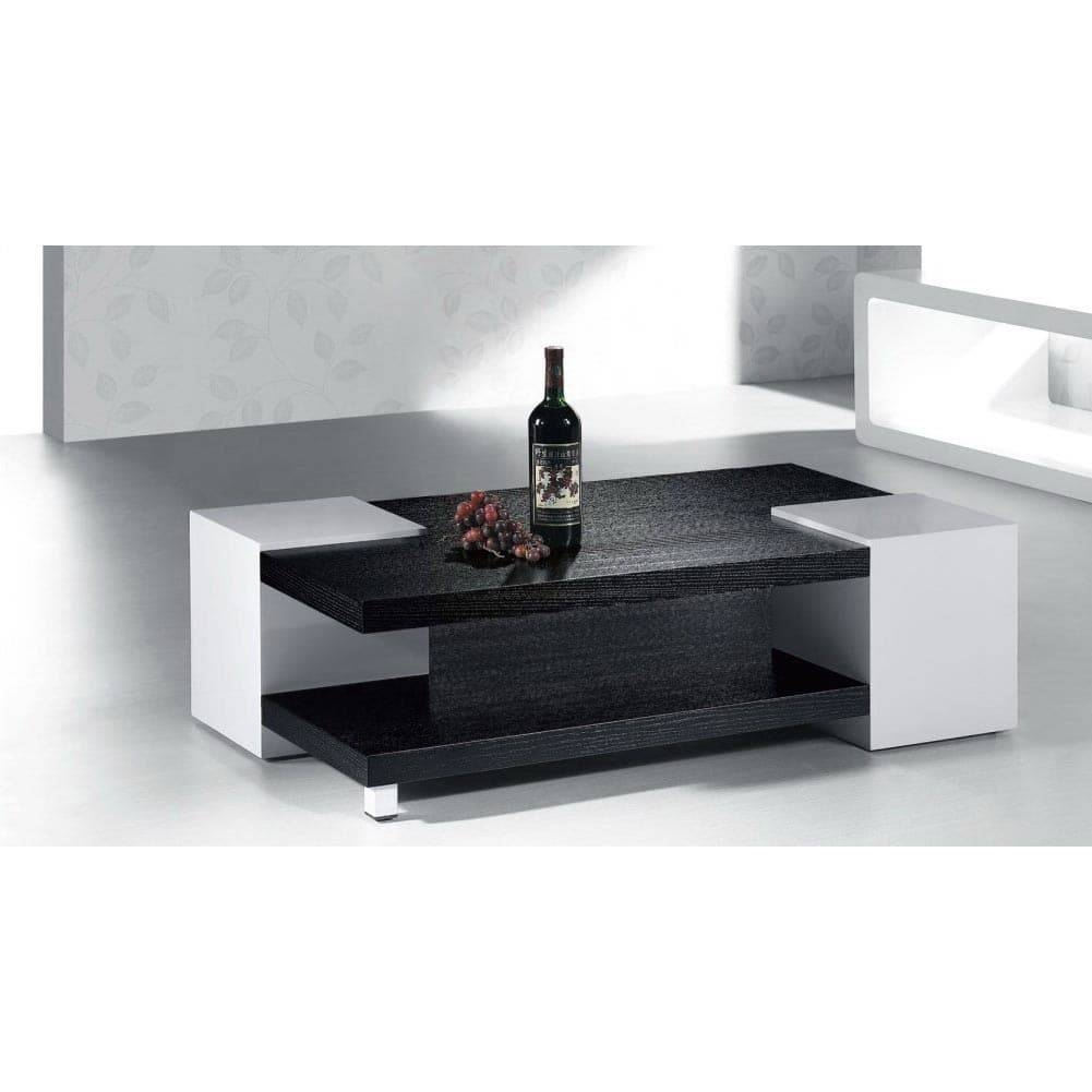 High Gloss Black / White Coffee Table - Free Shipping Today in Gloss Coffee Tables (Image 15 of 30)
