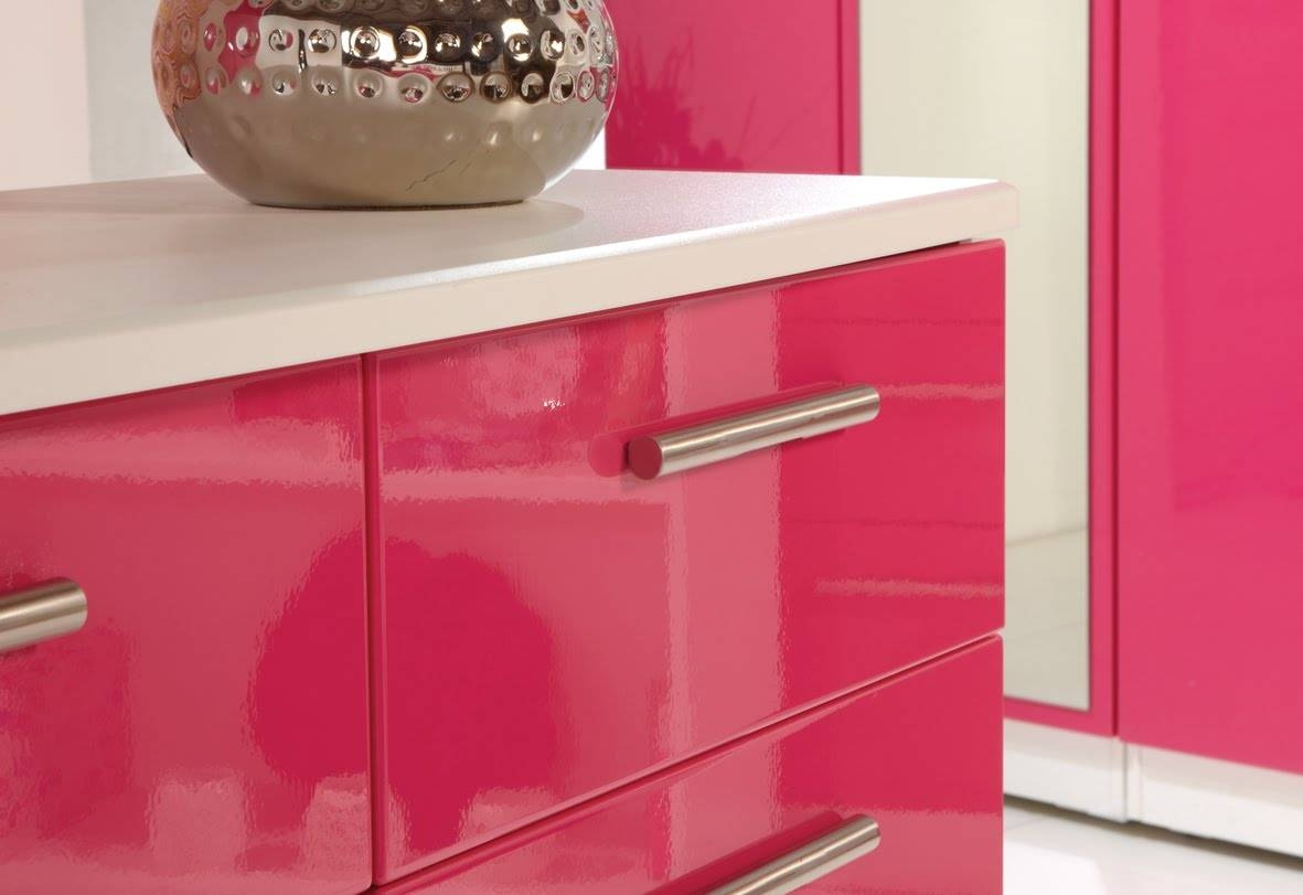 High Gloss Furniture Finishes - Amish Direct Furniture intended for Red High Gloss Sideboards (Image 15 of 30)
