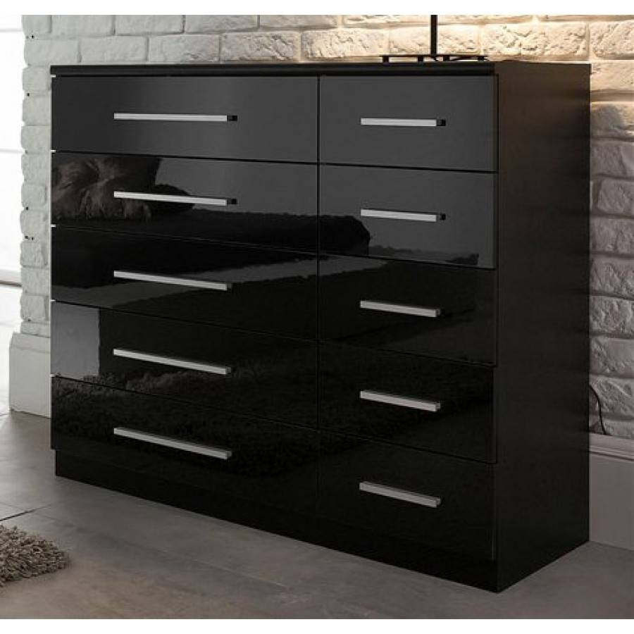High Gloss Furniture for High Gloss Black Sideboards (Image 21 of 30)