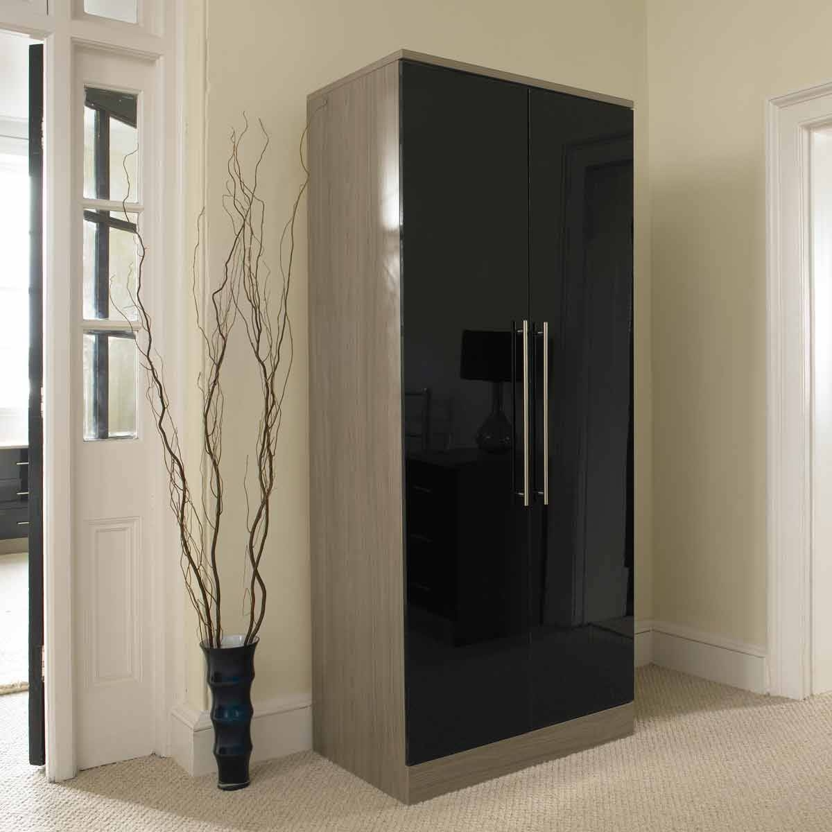 High Gloss Furniture | Ready 2 Drop intended for Gloss Black Wardrobes (Image 10 of 15)