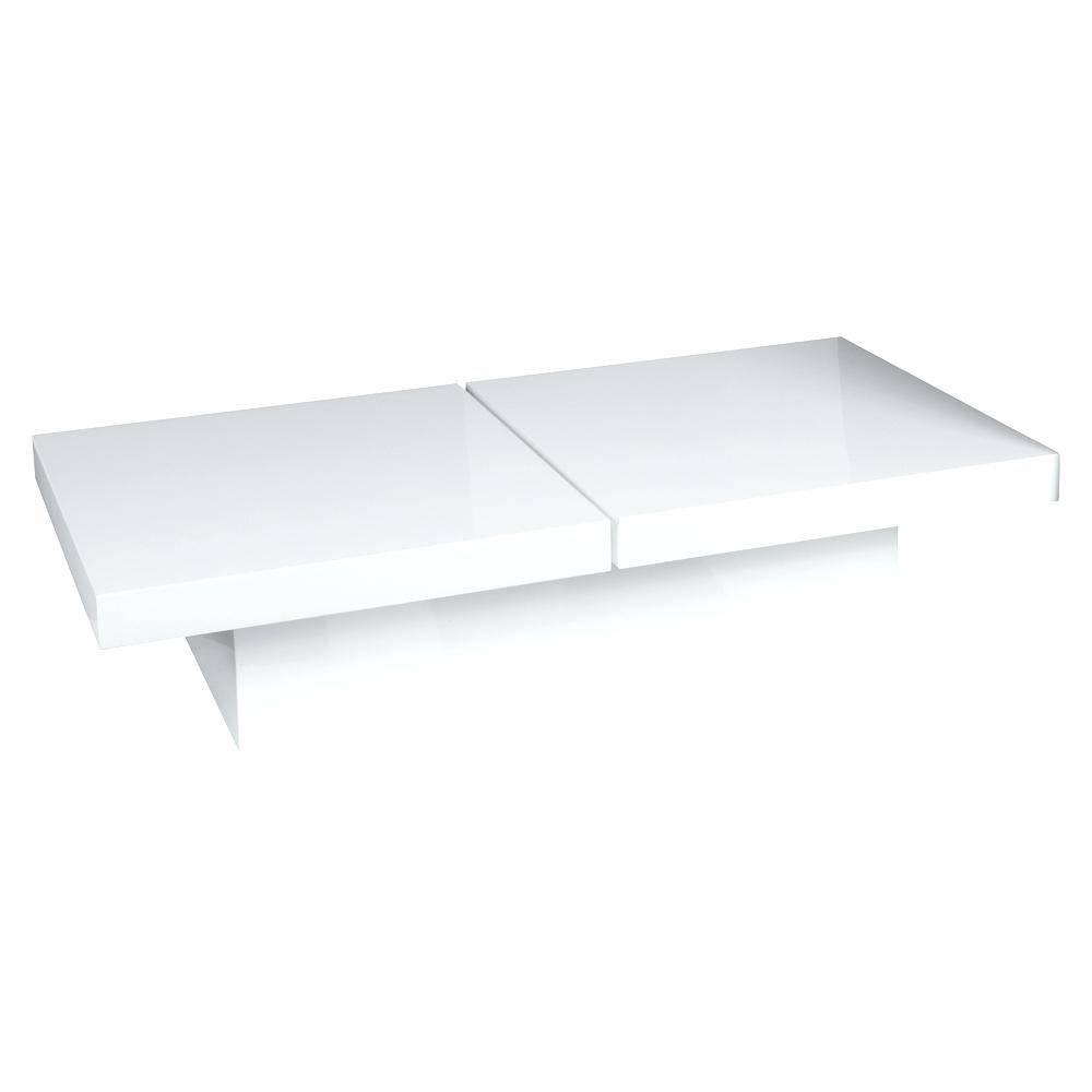 High Gloss White Coffee Table With Storage | Coffee Tables Decoration regarding White High Gloss Coffee Tables (Image 16 of 30)
