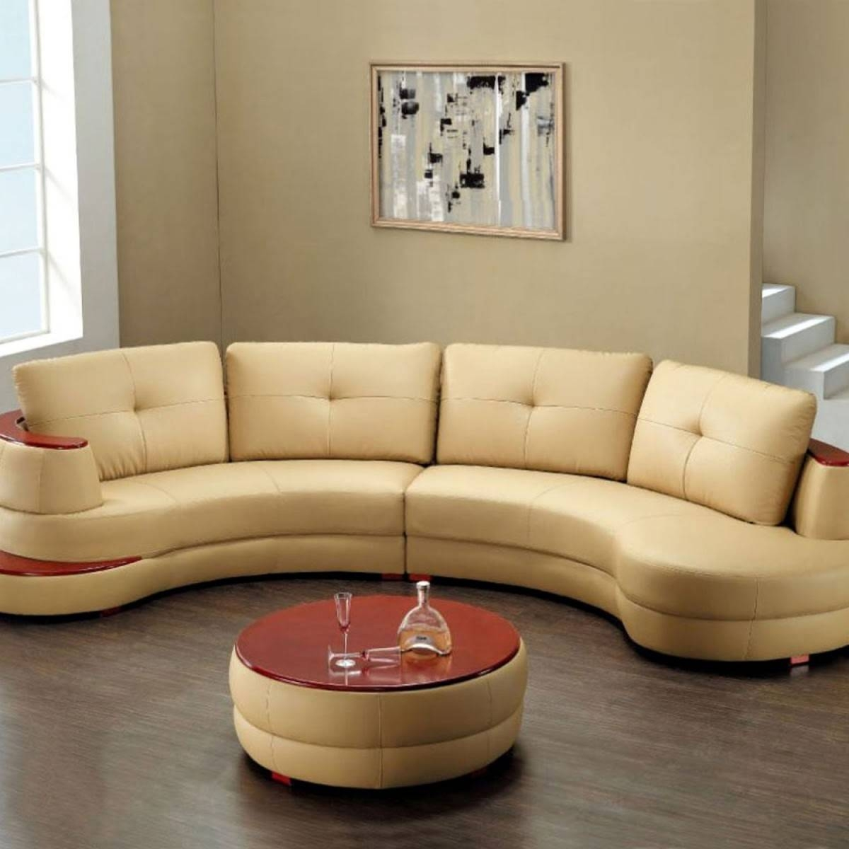 High Quality Of Round Ottoman Coffee Table with regard to High Quality Coffee Tables (Image 16 of 30)