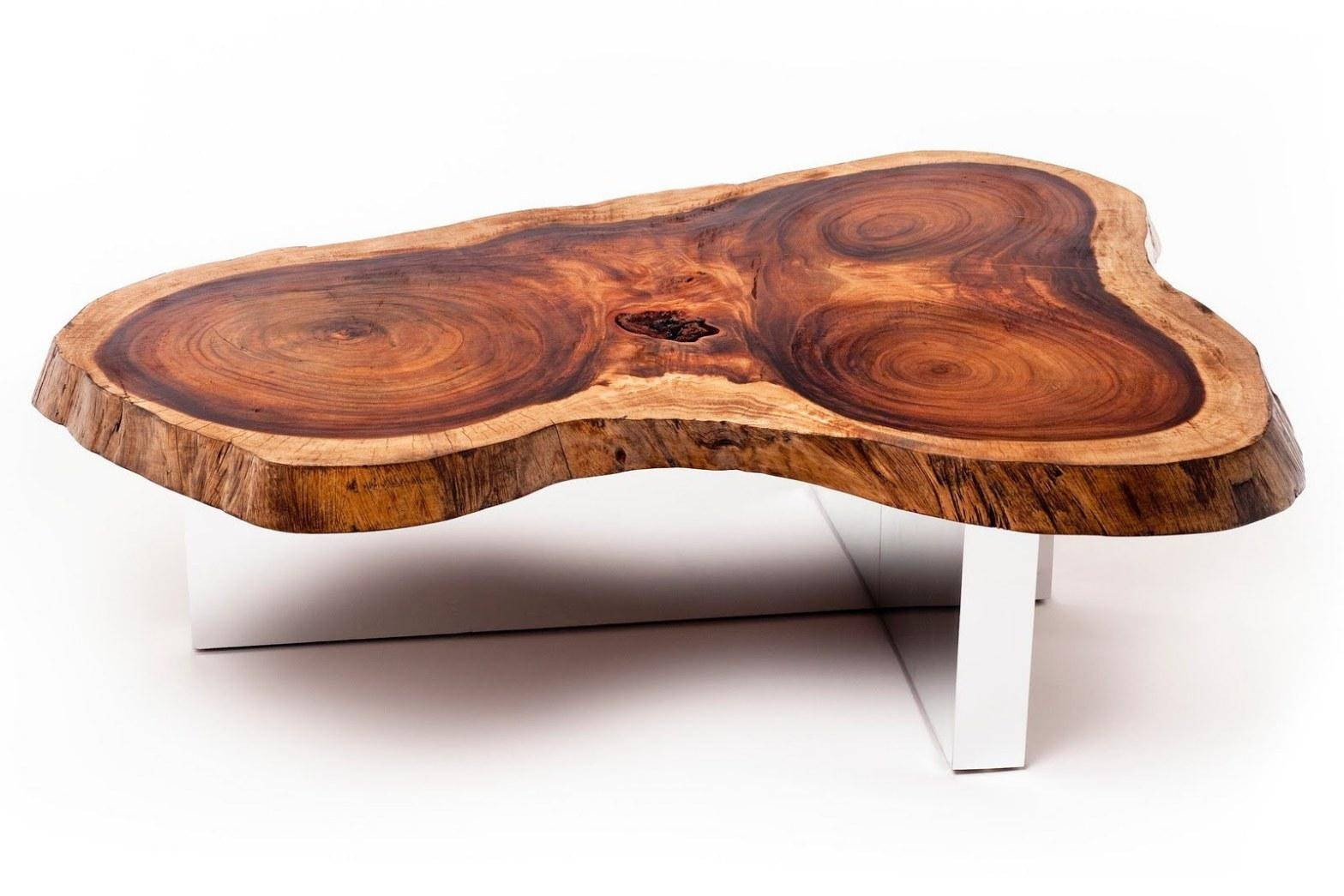 High Quality Wood Slab Coffee Table Bed & Shower with regard to High Quality Coffee Tables (Image 20 of 30)