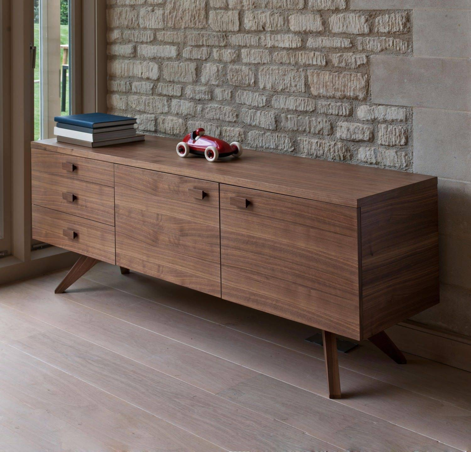 High Sideboard / Contemporary / Wooden - Crossmatthew Hilton for Contemporary Wood Sideboards (Image 19 of 30)