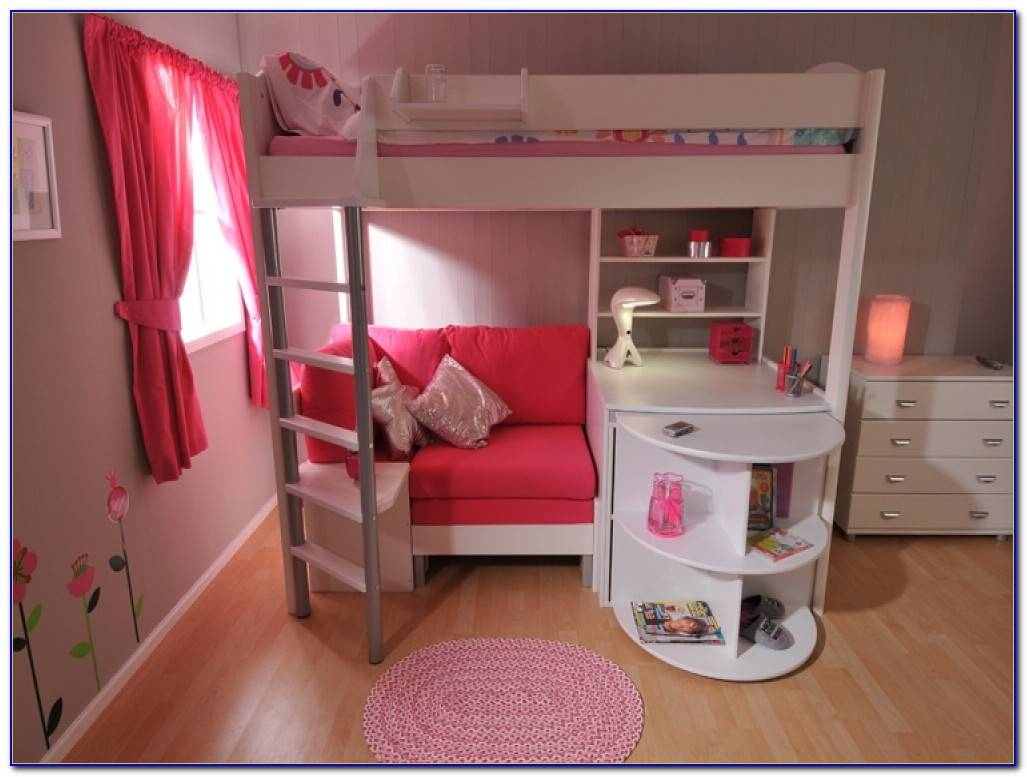High Sleeper Beds With Futon And Wardrobe - Futons : Home Design in High Sleeper With Wardrobes and Futon (Image 8 of 15)
