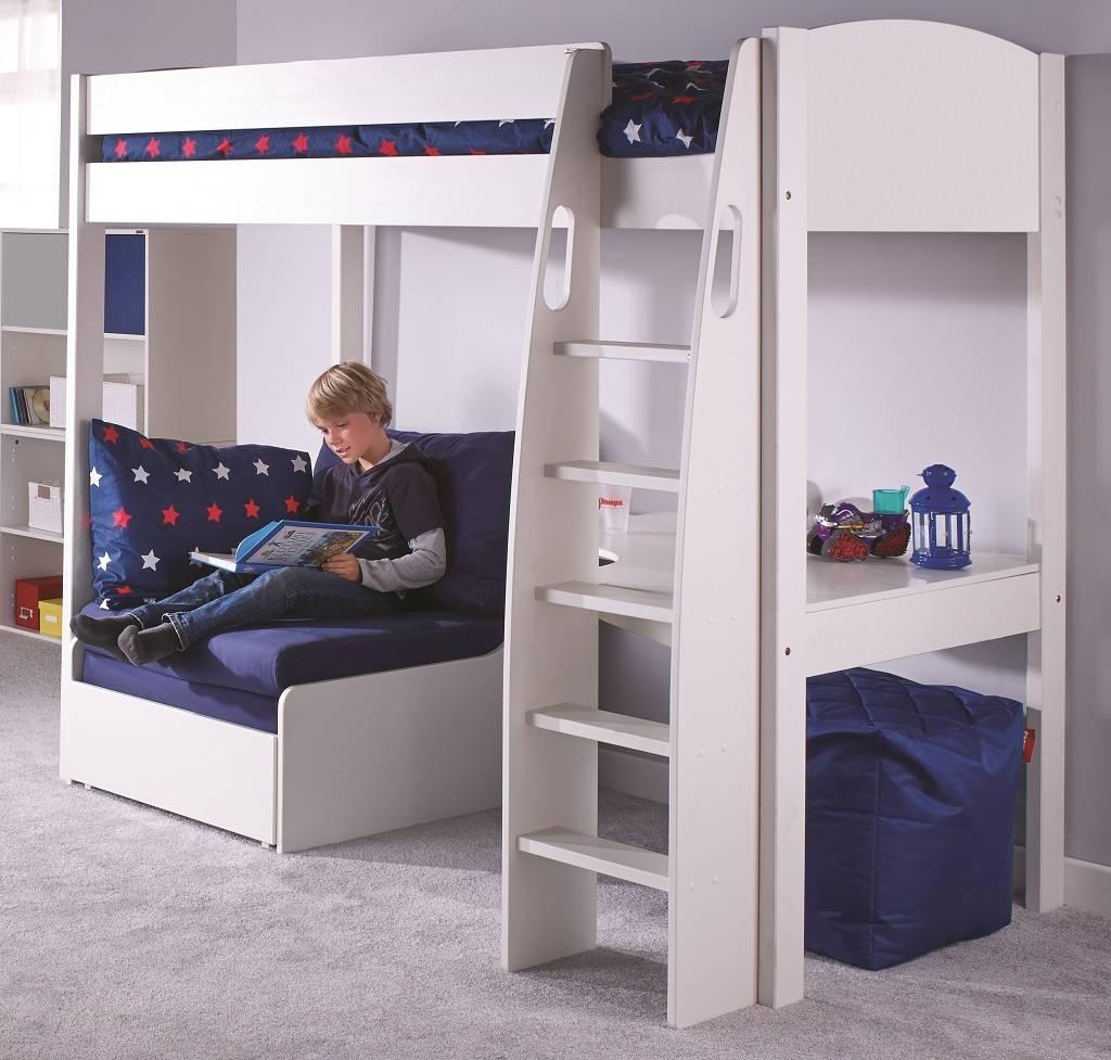 High Sleeper Beds With Sofa - Surferoaxaca in High Sleeper With Sofa and Desk (Image 10 of 25)