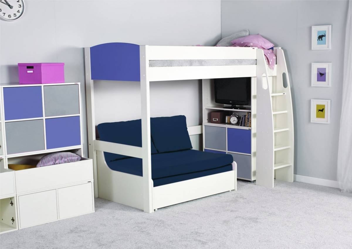 High Sleeper Beds With Sofa - Tourdecarroll for High Sleeper Bed With Sofa (Image 11 of 30)
