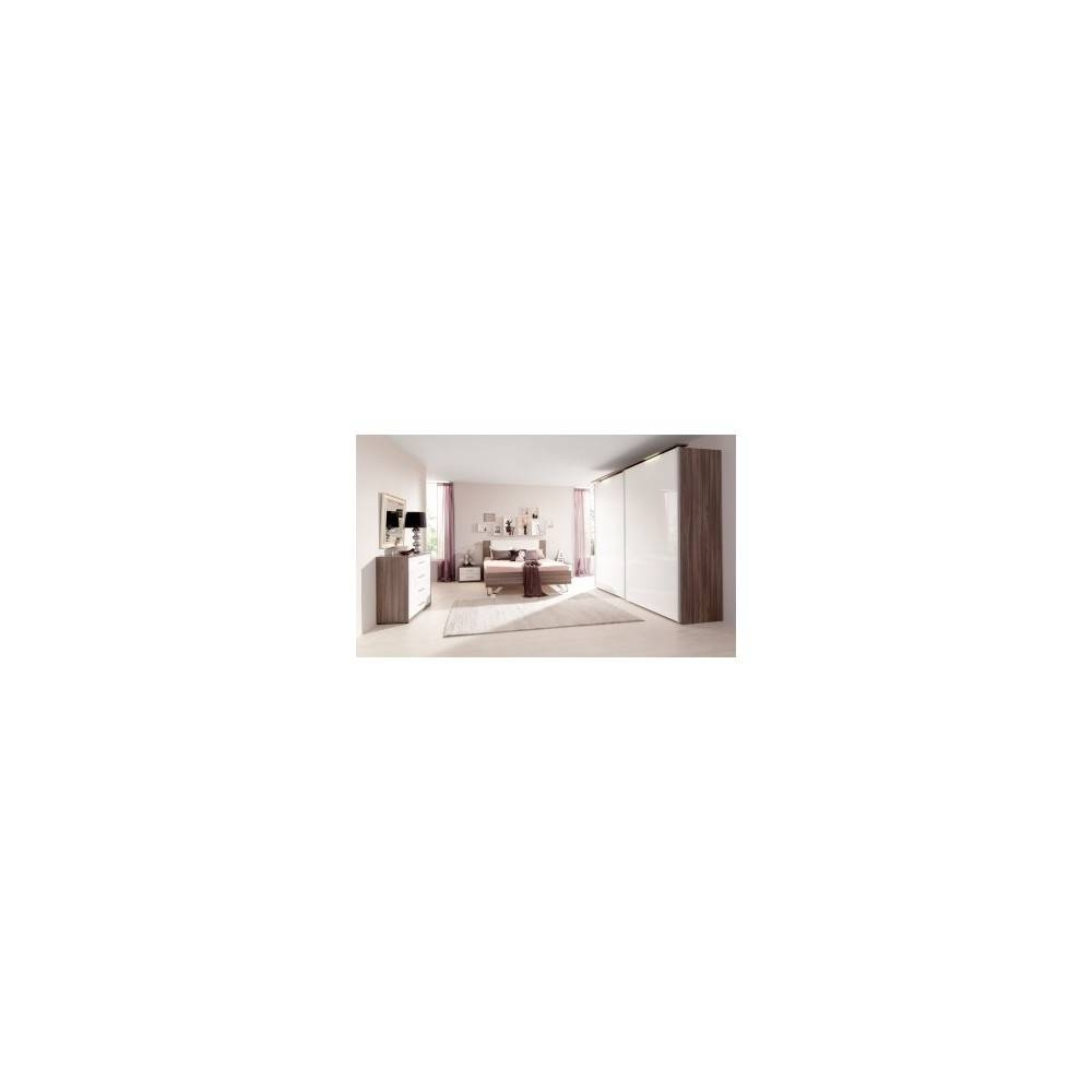 Highlight Infill 1 Door Corner Wardrobe With Sand Grey Gloss Inside 1 Door Corner Wardrobes (View 13 of 15)