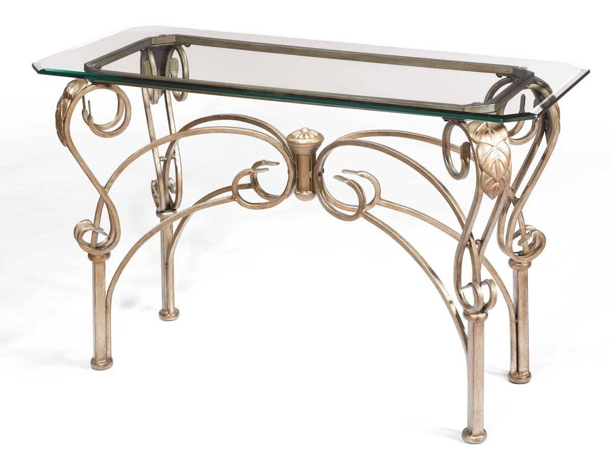 Hillsdale Bordeaux Sofa Table With Glass Top 41610-9010 with Bordeaux Coffee Tables (Image 17 of 30)