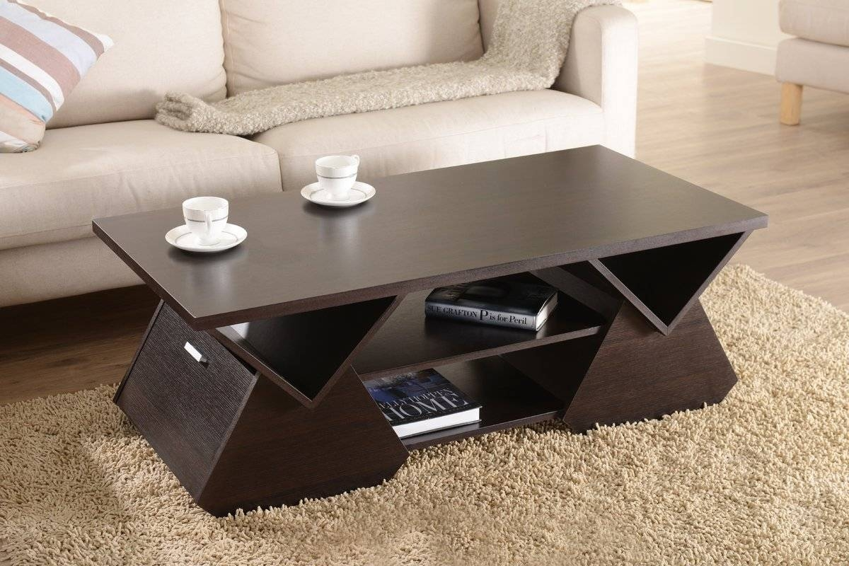 Hokku Designs Delilah Coffee Table & Reviews | Wayfair intended for Desk Coffee Tables (Image 10 of 30)