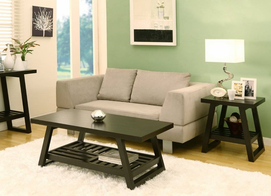 Hokku Designs Parker 2 Piece Coffee Table Set & Reviews | Wayfair intended for 2 Piece Coffee Table Sets (Image 27 of 30)