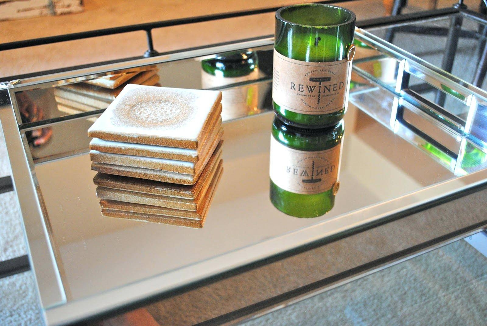 Home Bars And Bar Carts | Custommade | Decorative Table Decoration With Coffee Tables Mirrored (View 19 of 30)