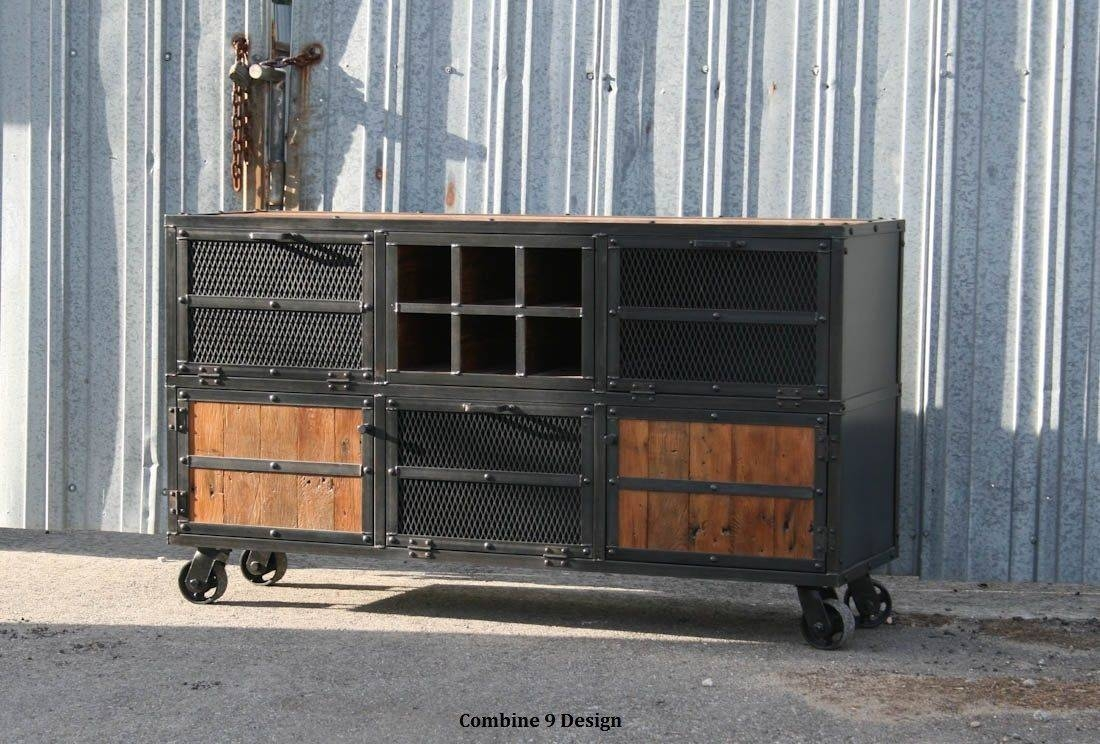 Home Bars And Bar Carts   Custommade with regard to Metal Sideboards (Image 15 of 30)