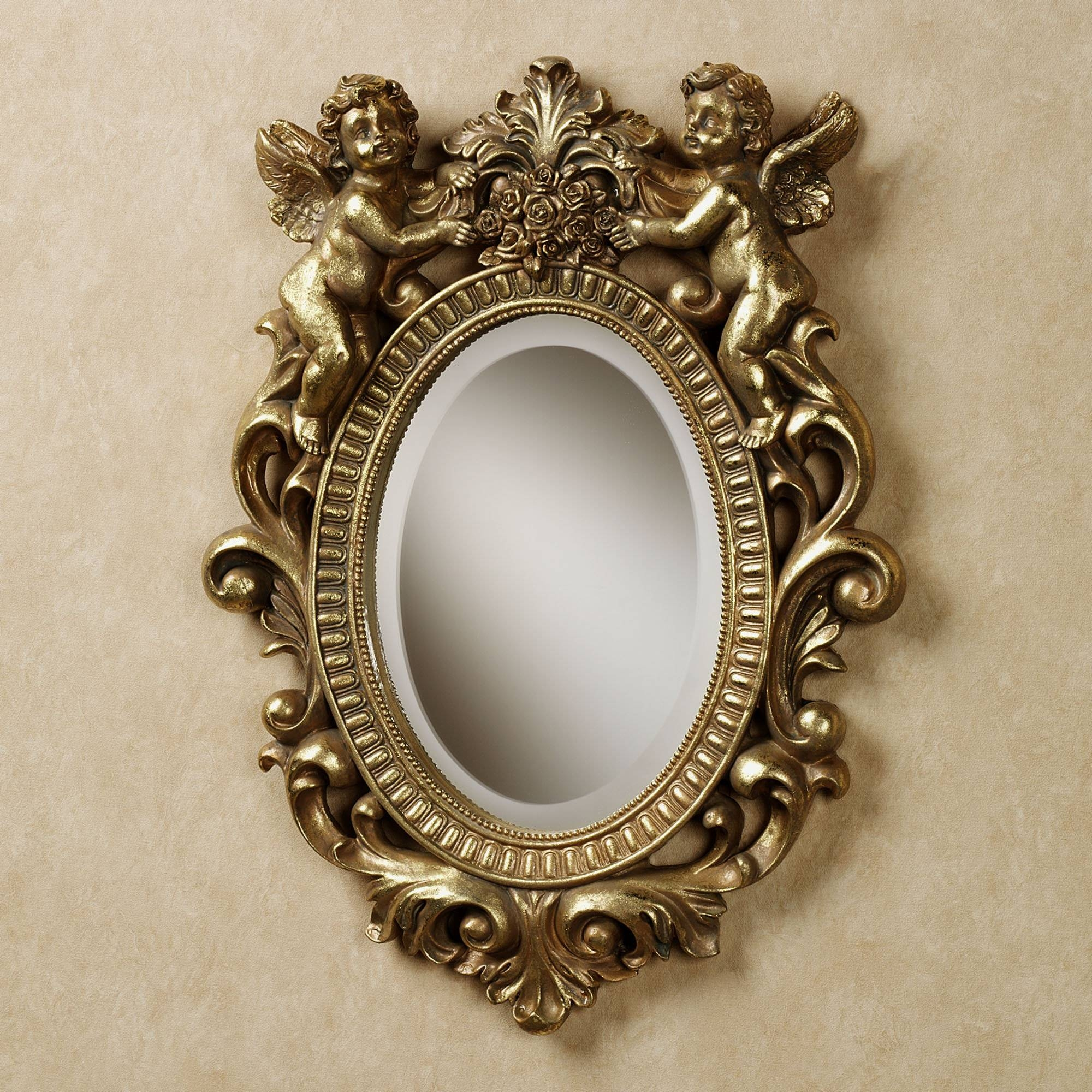 Home Decor: Antique Wall Mirror,antique Mirror,wall Mirrordecor ???? pertaining to Gold Antique Mirrors (Image 16 of 25)