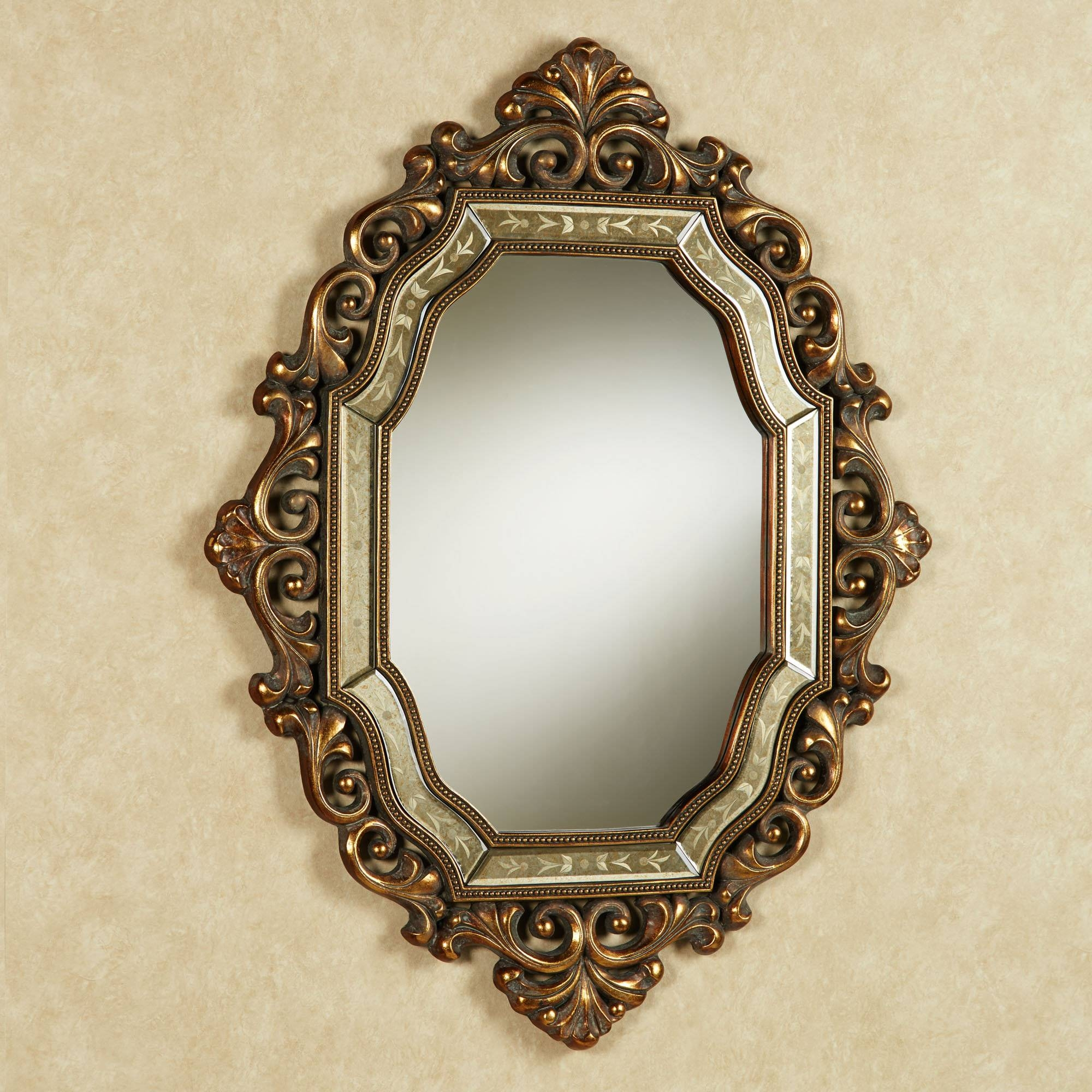 Home Decor: Use Antique Style Mirrors In Wall Decoration Of Your with regard to Old Style Mirrors (Image 20 of 25)