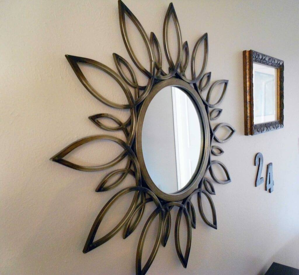 Home Decoration: Avoiding Mirror Wall Decor: When And Where throughout Unusual Round Mirrors (Image 13 of 25)