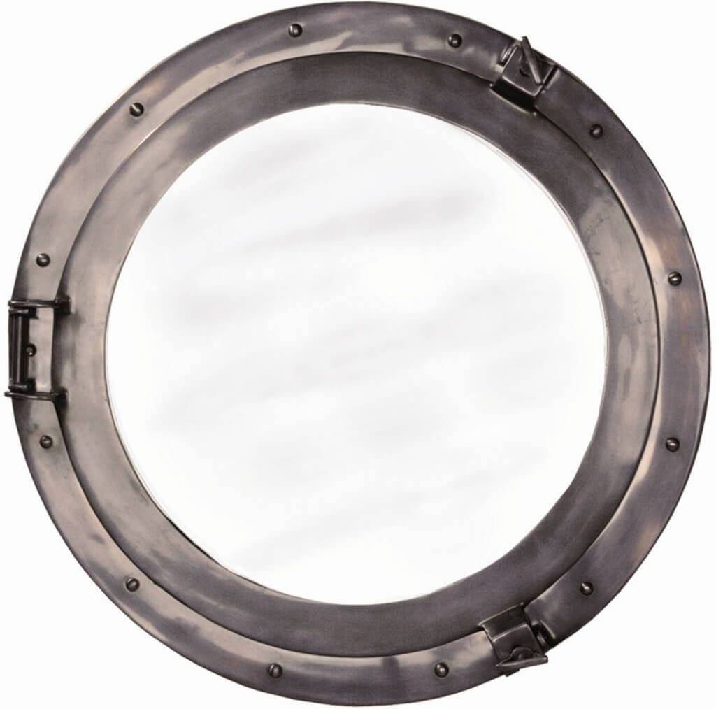 Home Decoration: Inspiring Aluminum Porthole Mirror Design Regarding Chrome Porthole Mirrors (View 15 of 25)