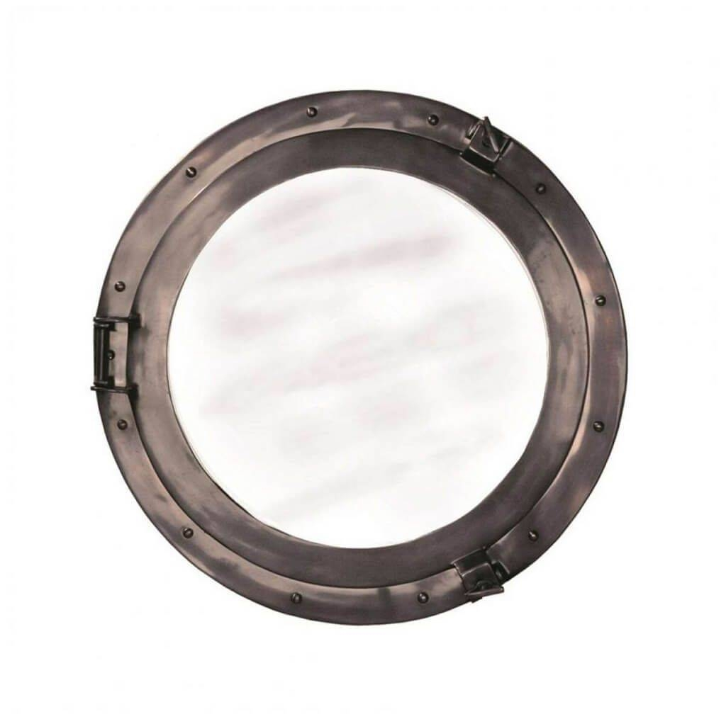 Home Decoration: Interesting Aluminum Porthole Mirror Ideas Intended For Chrome Porthole Mirrors (View 16 of 25)