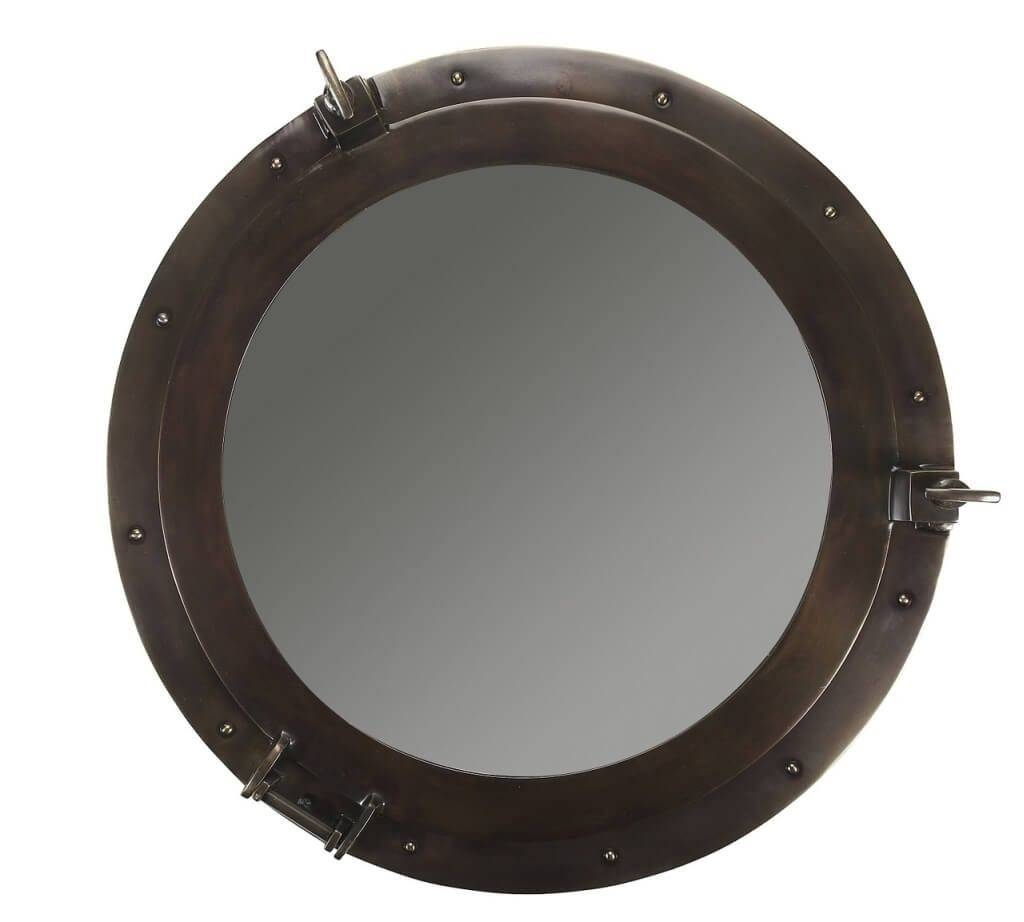 Home Decoration: Intresting Nautical Porthole Mirror Ideas Intended For Chrome Porthole Mirrors (View 17 of 25)