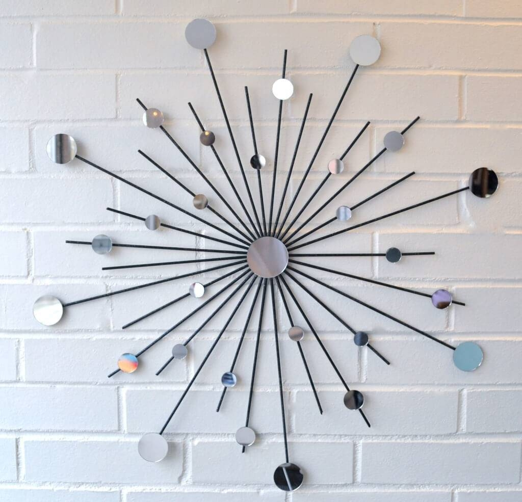 Home Decoration: Small Decorative Wall Mirrors With Sunburst Wall with Decorative Small Mirrors (Image 10 of 25)